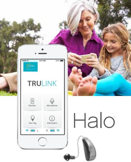 iPhone Halo Hearing Aid